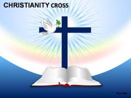 Christianity Cross Powerpoint Presentation Slides