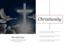 Christianity Powerpoint Slide Deck