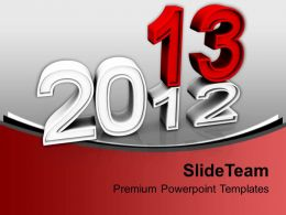 Christmas 2013 New Years Holidays PowerPoint Templates PPT Backgrounds For Slides 0113