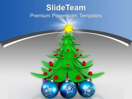 Christmas Angels Clip Art Tree With Star Heap Of Gift Boxes Templates Ppt Backgrounds For Slides