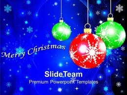 Christmas Angels Merry Image Hanging Filigree On Background Powerpoint Templates Ppt For Slides
