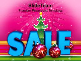 Christmas Background Sale And Filigree Decoration Events Templates Ppt Backgrounds For Slides