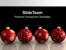 christmas_balls_on_black_background_powerpoint_templates_ppt_backgrounds_for_slides_0113_Slide01