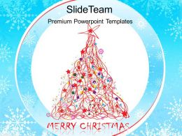 Christmas Carol Powerpoint Templates Merry Background Ppt Designs