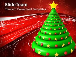 Christmas Clip Art Religious Tree Abstract Background Powerpoint Templates And Themes