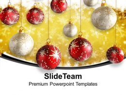 Christmas Clipart Images Of Jesus Hanging Balls Red And White Templates Ppt For Slides