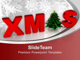 Christmas Concept Winter Background PowerPoint Templates PPT Themes And Graphics