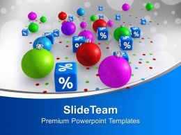 Christmas Discount Party Percentage Sale Powerpoint Templates Ppt Themes And Graphics 0113