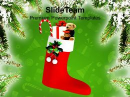 Christmas Gifts Party Merry Celebration Festival Powerpoint Templates And Themes
