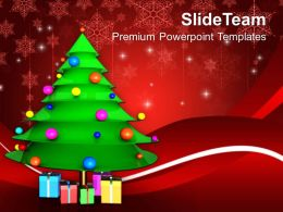 christmas_greetings_tree_with_presents_events_powerpoint_templates_ppt_backgrounds_for_slides_Slide01