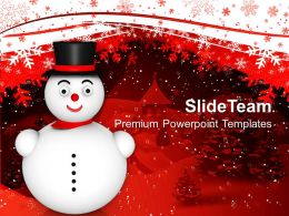 christmas_happy_snowman_festival_powerpoint_templates_and_themes_Slide01