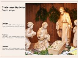 Christmas Nativity Scene Image