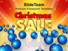 christmas_ornaments_images_of_blue_bauble_with_sale_shopping_templates_ppt_for_slides_powerpoint_Slide01