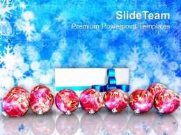 christmas_ornaments_images_of_jesus_gift_and_balls_on_decorative_background_powerpoint_templates_Slide01