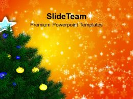 Christmas Pics Clip Art Stunning Tree Holidays Powerpoint Templates Ppt Backgrounds For Slides