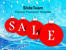 Christmas Pics Tree Sale Baubles Holidays Powerpoint Templates Ppt Backgrounds For Slides
