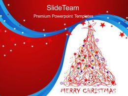 Christmas Picture Powerpoint Templates Merry Image Ppt Themes
