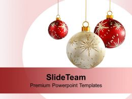 Christmas Pictures Jesus Decorative Ornaments Powerpoint Templates Ppt Backgrounds For Slides
