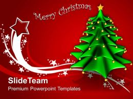 Christmas Pictures Trees Background Holidays Powerpoint Templates Ppt Backgrounds For Slides