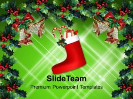 Christmas Pictures Vintage Decoration Abstract Holidays Background Powerpoint Templates