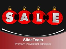 Christmas Sermons Merry Image Illustration Of Balls With Sale Templates Ppt Backgrounds For Slides