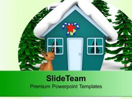 Christmas Theme And Winter Background PowerPoint Templates PPT Themes And Graphics