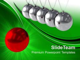 Christmas Time Powerpoint Templates Balancing Balls Leadership Ppt Themes