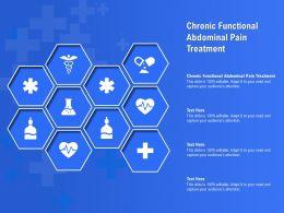 Chronic Functional Abdominal Pain Treatment Ppt Powerpoint Presentation Portfolio