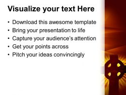 Church Images Powerpoint Templates Christian Cross Background Religion Growth Ppt Design Slides