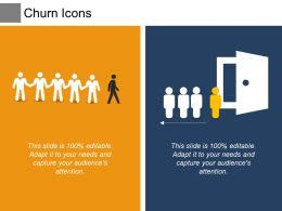 Churn Icons