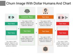 Churn Image With Dollar Humans And Chart