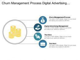 Churn Management Process Digital Advertising Management Revenue Generators Cpb