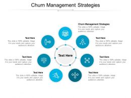 Churn Management Strategies Ppt Powerpoint Presentation Professional Show Cpb