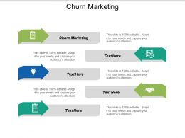 Churn Marketing Ppt Powerpoint Presentation Pictures Graphics Example Cpb