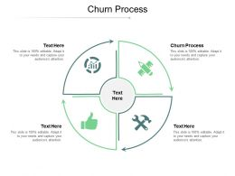 Churn Process Ppt Powerpoint Presentation Infographics Format Ideas Cpb