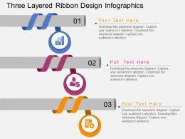 ci_three_layered_ribbon_design_infographics_flat_powerpoint_design_Slide01