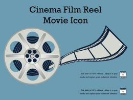 Cinema Film Reel Movie Icon