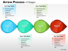 Circle Arrow 4 Stages 12