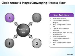 circle_arrow_4_stages_converging_process_flow_charts_and_powerpoint_templates_Slide06