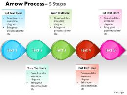 Circle Arrow 5 Stages 30