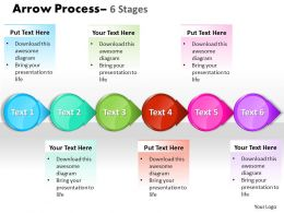Circle Arrow 6 Stages 15