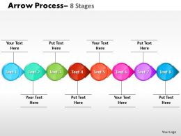 Circle Arrow 8 Stages 4