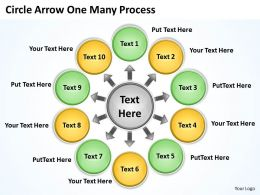 circle_arrow_one_many_process_10_6_Slide01