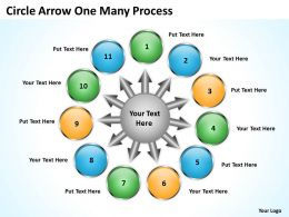 circle_arrow_one_many_process_11_4_Slide01