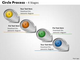 Circle arrow process 8