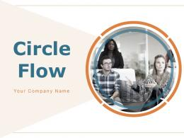 Circle Flow Planning Circle Business Strategy Management Team Work Graphical Model Development