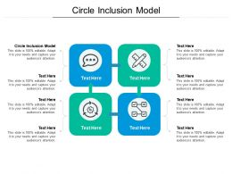 Circle Inclusion Model Ppt Powerpoint Presentation Infographic Template Aids Cpb