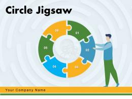 Circle Jigsaw Corporate Restructuring Product Advertisement Marketing