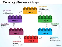 Circle Lego Process 6 Stages 8