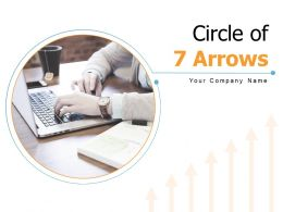 Circle Of 7 Arrows Business Evaluating Development Marketing Planning